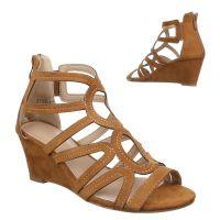 best sneakers f0128 ee8ea Damen-Sandaletten-Camel-1437-KL